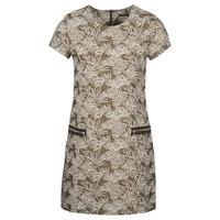Textiel Dames Lange jurken Ikks BN30165-65 Kaki / Beige