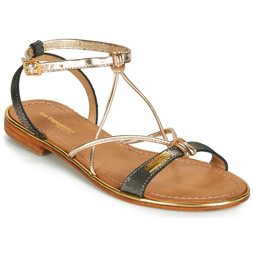 Schoenen Dames Sandalen / Open schoenen Les Tropéziennes par M Belarbi HIRONDEL Zwart / Iris