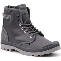 Schoenen Heren Hoge sneakers Palladium Manufacture Pampa Solid Ranger 76013-075-M grey