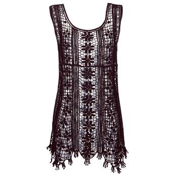 Textiel Dames Korte jurken Banana Moon JOSY DREAMLAND Zwart