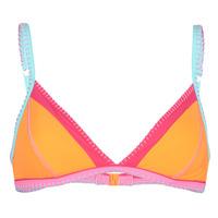 Textiel Dames Bikinibroekjes- en tops Banana Moon TAEKO TEKNICOLO Oranje / Roze / Blauw