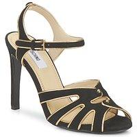 Schoenen Dames Sandalen / Open schoenen Moschino MA1604 Zwart