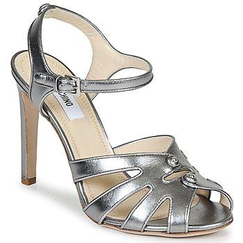 Schoenen Dames Sandalen / Open schoenen Moschino MA1604 Zilver