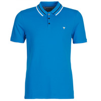 Textiel Heren Polo's korte mouwen Guess CLAUD Blauw