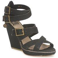 Schoenen Dames Sandalen / Open schoenen Feud WASP Zwart