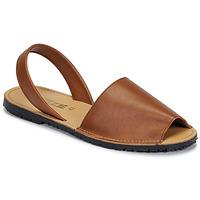 Schoenen Dames Sandalen / Open schoenen So Size LOJA Bruin