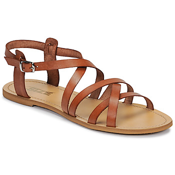 Schoenen Dames Sandalen / Open schoenen So Size IDITRON Bruin