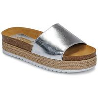 Schoenen Dames Leren slippers So Size JITRUNE Zilver