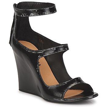 Schoenen Dames Sandalen / Open schoenen Premiata 2830 LUCE Zwart