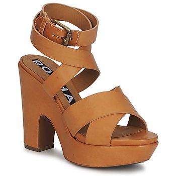 Schoenen Dames Sandalen / Open schoenen Rochas RO18082 Bruin