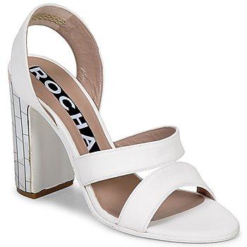 Schoenen Dames Sandalen / Open schoenen Rochas RO18244 Wit