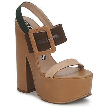 Schoenen Dames Sandalen / Open schoenen Rochas RO18231 Bruin / Beige