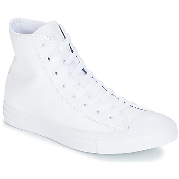 Schoenen Hoge sneakers Converse ALL STAR MONOCHROME CUIR HI Wit