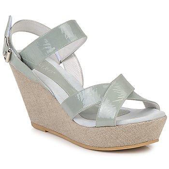 Schoenen Dames Sandalen / Open schoenen Regard RAGA Groen / Light