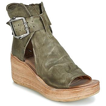 Schoenen Dames Sandalen / Open schoenen Airstep / A.S.98 NOA BUCKLE Kaki
