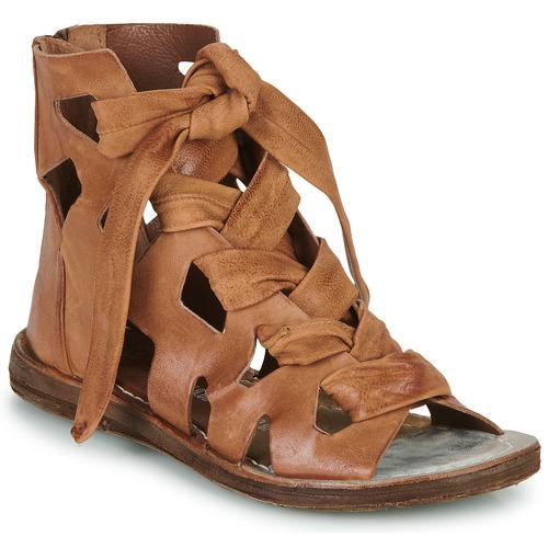 Schoenen Dames Sandalen / Open schoenen Airstep / A.S.98 RAMOS LACES Camel