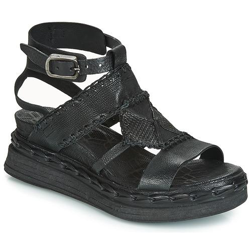 Schoenen Dames Sandalen / Open schoenen Airstep / A.S.98 LAGOS Zwart
