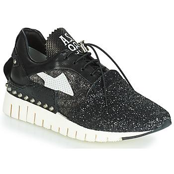 Schoenen Dames Lage sneakers Airstep / A.S.98 DENALUX Zwart