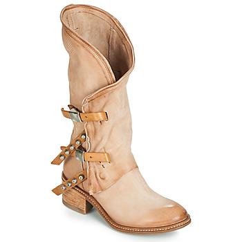 Schoenen Dames Hoge laarzen Airstep / A.S.98 WINNIE Beige