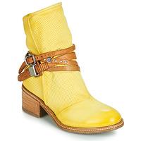 Schoenen Dames Laarzen Airstep / A.S.98 WINNIE STRAP Geel