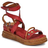 Schoenen Dames Sandalen / Open schoenen Airstep / A.S.98 LAGOS Rood