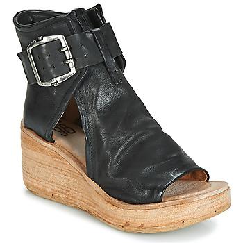 Schoenen Dames Sandalen / Open schoenen Airstep / A.S.98 NOA BUCKLE Zwart