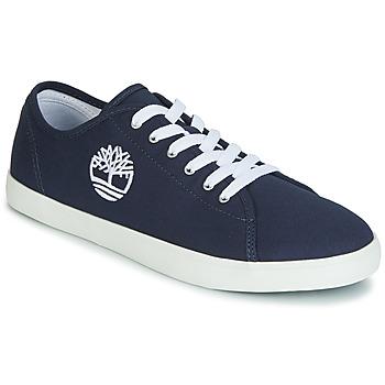 Schoenen Kinderen Lage sneakers Timberland NEWPORT BAY CANVAS OX Blauw