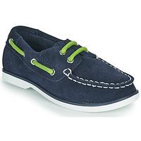 Schoenen Kinderen Bootschoenen Timberland SEABURY CLASSIC 2EYE BOAT Zwart