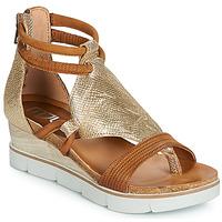 Schoenen Dames Sandalen / Open schoenen Mjus TAPASITA Goud / Camel