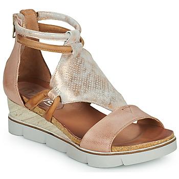 Schoenen Dames Sandalen / Open schoenen Mjus TAPASITA Roze / Goud