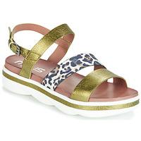 Schoenen Dames Sandalen / Open schoenen Mjus TALISMAN Groen / Leo