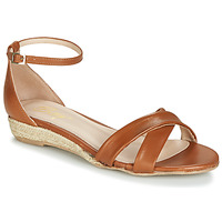 Schoenen Dames Sandalen / Open schoenen Betty London JIKOTIVE Camel