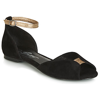 Schoenen Dames Sandalen / Open schoenen Betty London INALI Zwart