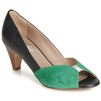 Schoenen Dames pumps Betty London JIKOTIZE Zwart / Groen