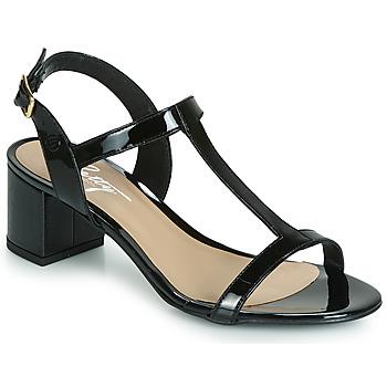 Schoenen Dames Sandalen / Open schoenen Betty London CREPE Zwart
