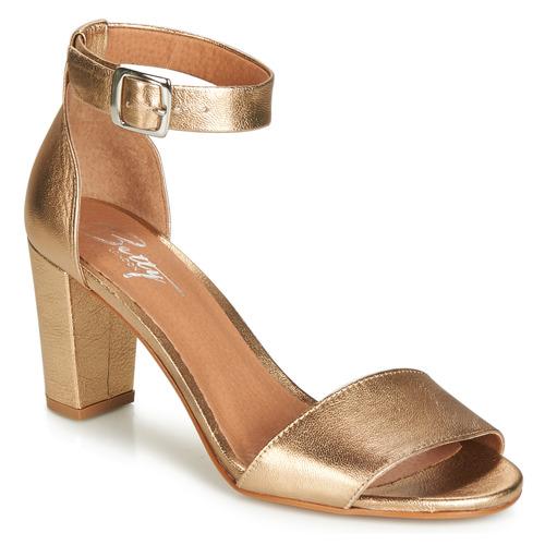 Schoenen Dames Sandalen / Open schoenen Betty London CRETOLIA Goud