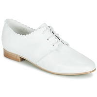 Schoenen Dames Derby Betty London JIKOTEFE Wit