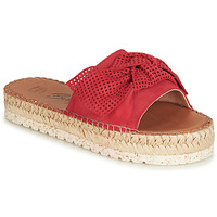 Schoenen Dames Leren slippers Betty London JIKOTIGE Rood