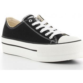 Schoenen Dames Lage sneakers Victoria 1061100 negro Noir