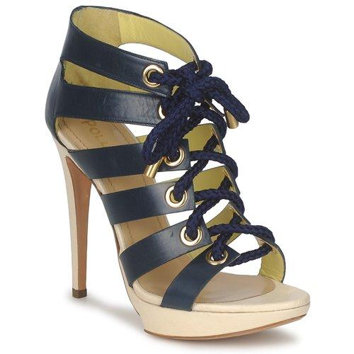 Schoenen Dames Sandalen / Open schoenen Pollini PA1609CC1V Blauw