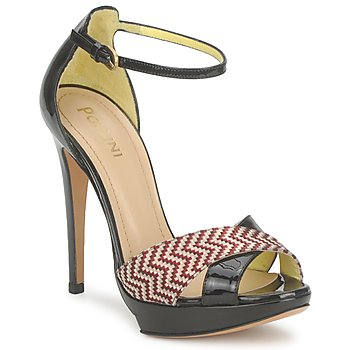 Schoenen Dames Sandalen / Open schoenen Pollini PA1638CC1V Rood-leer
