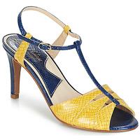 Schoenen Dames Sandalen / Open schoenen Ippon Vintage DROP BACK Marine / Geel