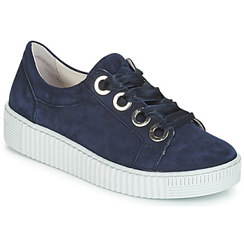 Schoenen Dames Lage sneakers Gabor POMPON Marine