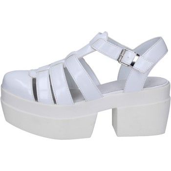 Schoenen Dames Sandalen / Open schoenen Cult sandali bianco pelle BT539 Bianco
