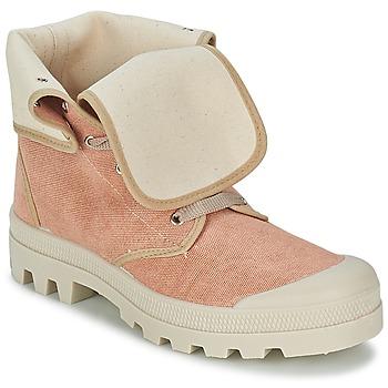 Schoenen Dames Hoge sneakers Casual Attitude BOPESSA Roze