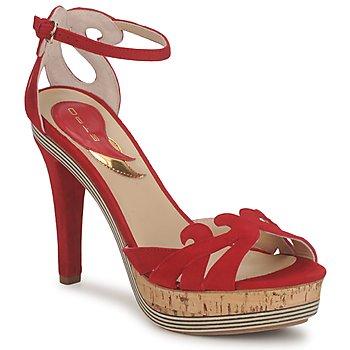 Schoenen Dames Sandalen / Open schoenen Etro 3488 Rood
