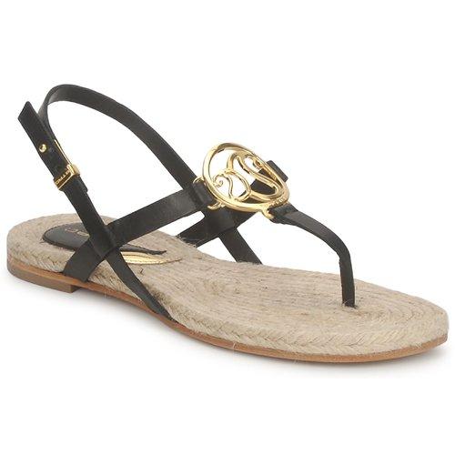 Schoenen Dames Sandalen / Open schoenen Etro 3426 Zwart