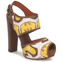 Schoenen Dames Sandalen / Open schoenen Missoni TM81 Bruin / Beige / Geel