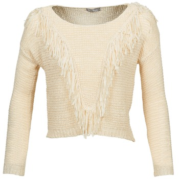 Textiel Dames Truien Betty London CAZE Beige