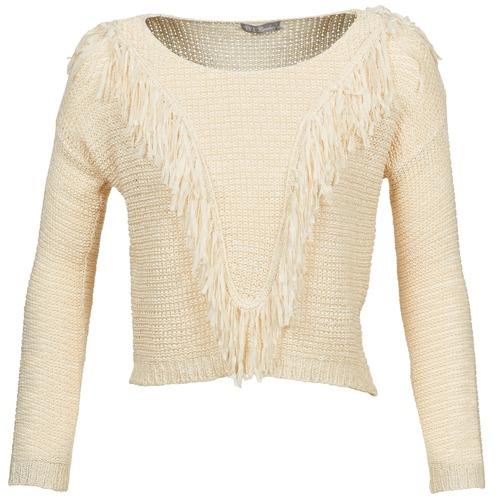Textiel Dames Truien Betty London CAZE Beige